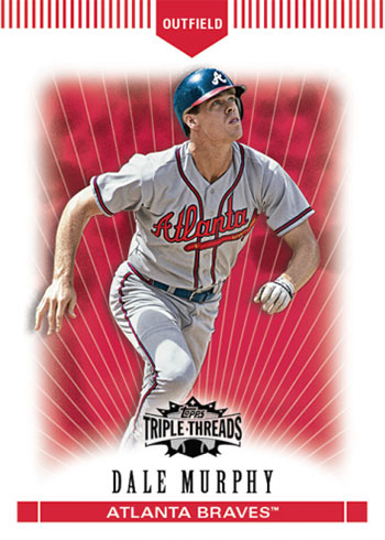 2020 Topps Throwback Thursday Baseball 12 Dale Murphy
