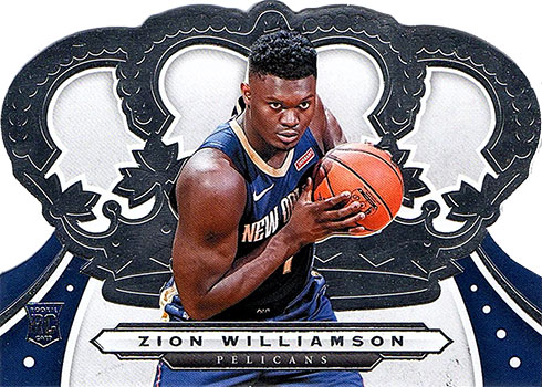 2019-20 Crown Royale Zion Williamson Rookie Card