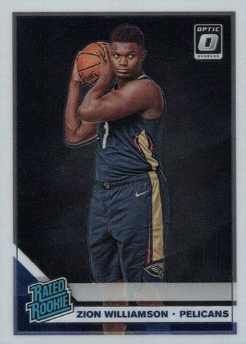 2019-20 Donruss Optic Zion Williamson Rookie Card