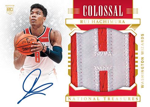 2019-20 Panini National Treasures Basketball Colossal Signatures