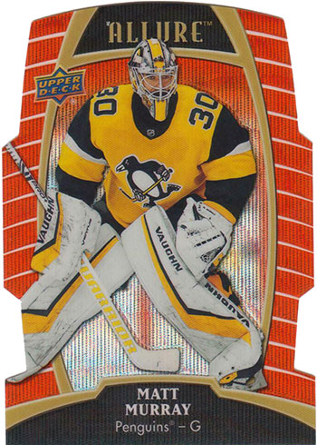 2019-20 Upper Deck Allure Hockey Orange Slice Matt Murray