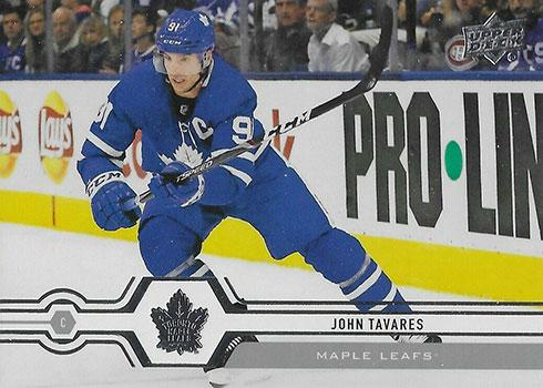 2019-20 Upper Deck Series 2 Hockey Variations Jonathan Tavares