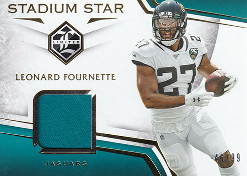 2019 Panini Limited Football Stadium Star Swatches