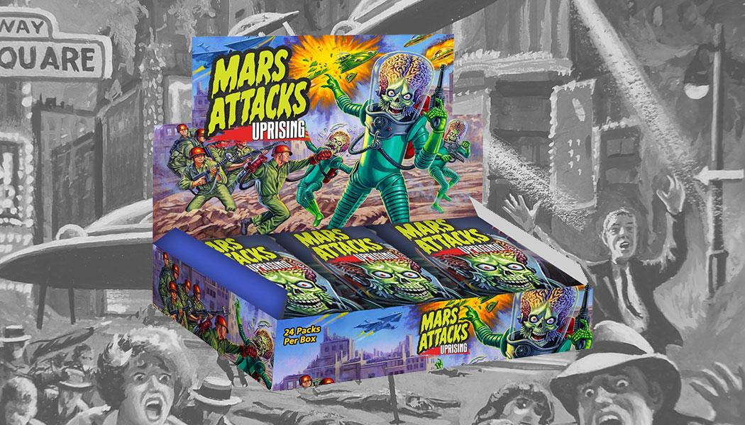 Mars Attacks Invasion Heritage Parallel Base Card #2