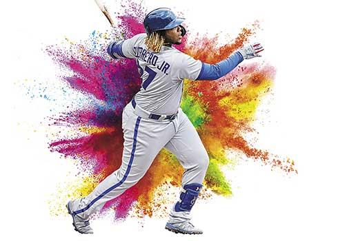 2020 Panini Prizm Baseball Color Blast