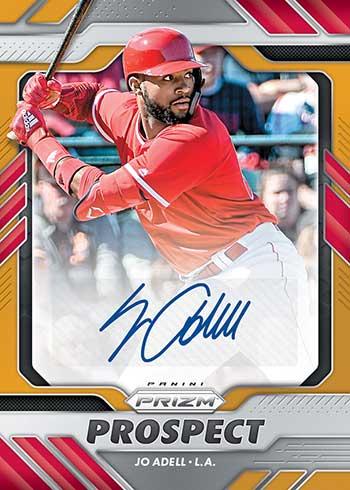2020 Panini Prizm Baseball Prospect Autographs