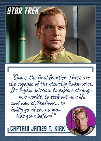 2020 Rittenhouse Star Trek TOS: Archives and Inscriptions P1