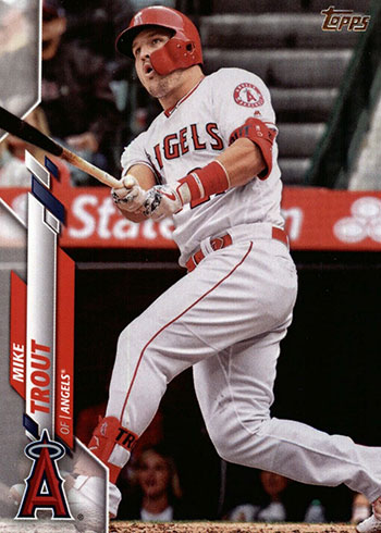 2020 Topps Series 1 Baseball Mike Trout