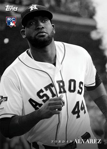 2020 Topps Black and White Baseball Yordan Alvarez
