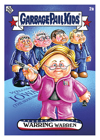 TOPPS 2020 GARBAGE PAIL KIDS DISGRACE TO THE WHITE HOUSE SET 7 LAST MAN STANDING