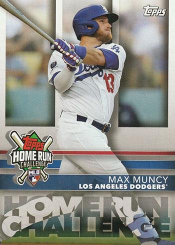 2020 Topps Baseball Home Run Challenge Max Muncy