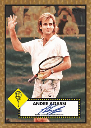 2020 Topps Transcendent Tennis Hall of Fame Superfractor Autograph