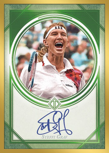 2020 Topps Transcendent Tennis Hall of Fame Autograph Emerald
