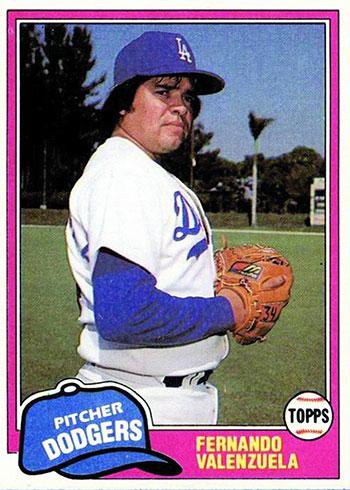 1981 Topps Traded Fernando Valenzuela