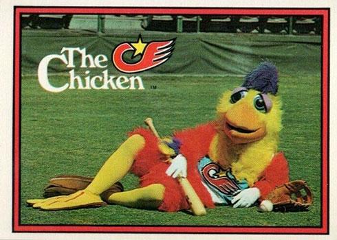 1982 Donruss San Diego Chicken