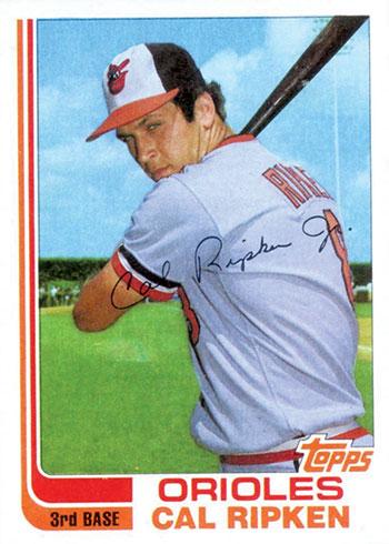 1982 Topps Traded Cal Ripken Jr.
