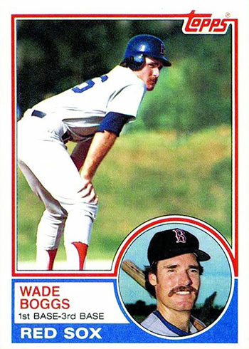 1983 Topps Wade Boggs RC