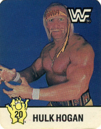 1988 Hostess WrestleMania IV 20 Hulk Hogan