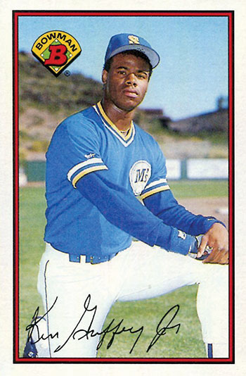 1989 Bowman Ken Griffey Jr. Rookie Card