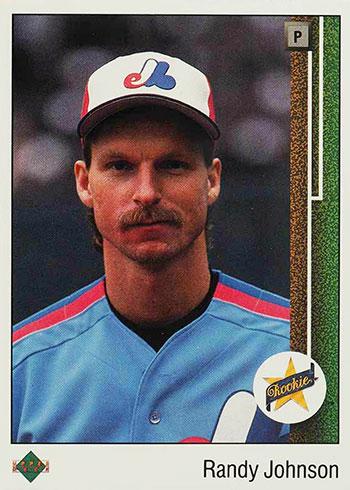 1989 Upper Deck Randy Johnson RC