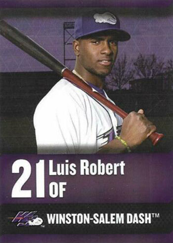 2018 Winston-Salem Dash Luis Robert