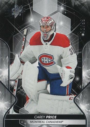2019-20 SPx Hockey Carey Price
