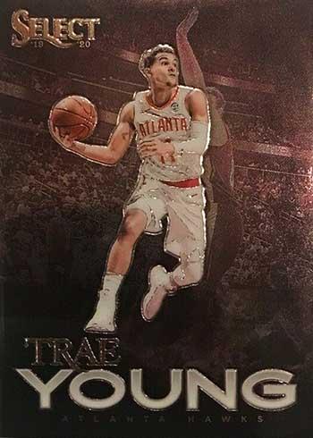 2019-20 Panini Select Basketball Artistic Impressions Trae Young