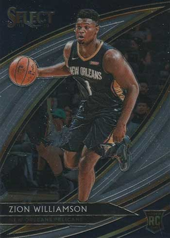2019-20 Panini Select Basketball Zion Williamson Courtside