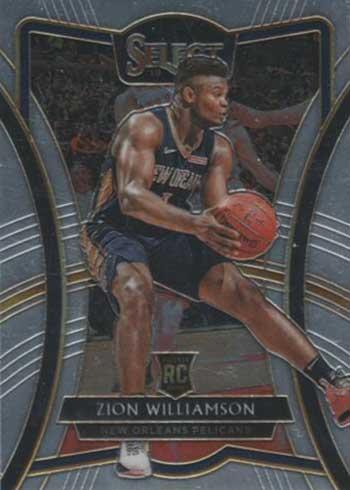 2019-20 Panini Select Basketball Premier Zion Williamson