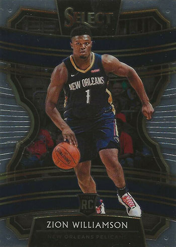 2019-20 Select Zion Williamson Rookie Card