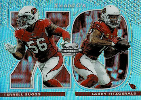 2019 Panini Contenders Optic Football Xs and Os