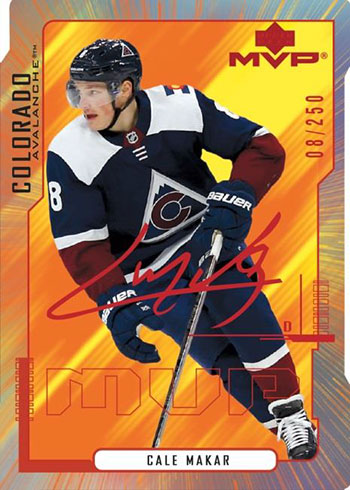2020-21 Upper Deck MVP Hockey Colors and Contours