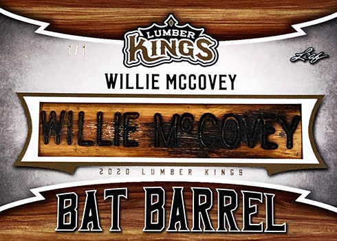 2020 Leaf Lumber Kings Baseball Bat Barrel Willie McCovey
