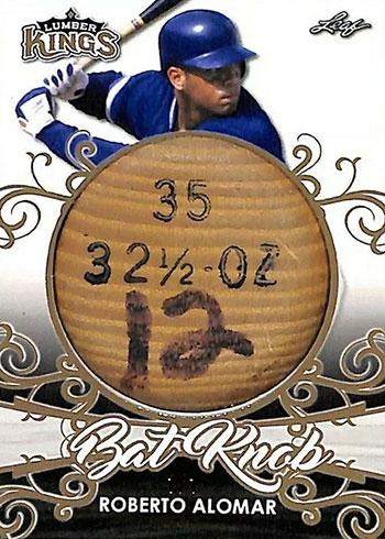 2020 Leaf Lumber Kings Baseball Bat Knob Roberto Alomar