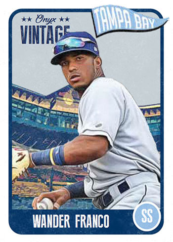 2020 Onyx Vintage Baseball Wander Franco