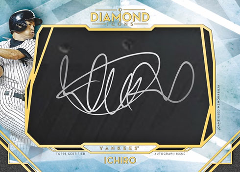 2020 Topps Diamond Icons Baseball Autographed Preeminent Pieces
