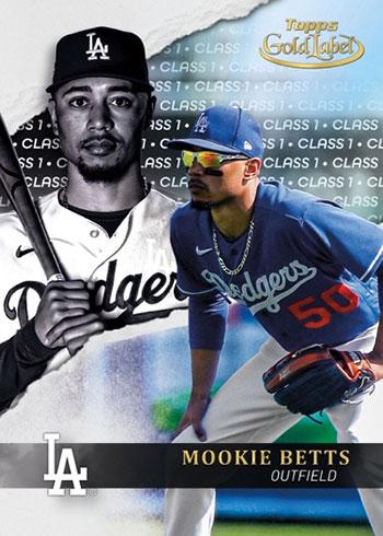 2020 Topps Gold Label Baseball Class 1