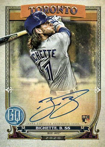 2020 Topps Gypsy Queen Baseball Bo Bichette Autograph