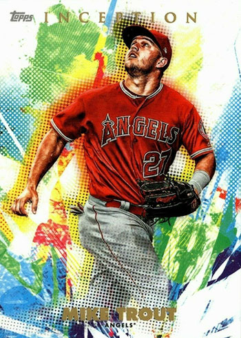 2020 Topps Inception Baseball Mike Trout