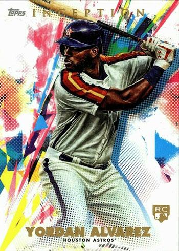 2020 Topps Inception Baseball Yordan Alvarez