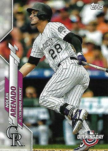 2020 Topps Opening Day Baseball Nolan Arenado