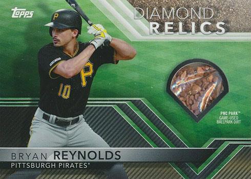 2020 Topps Opening Day Baseball Diamond Relics Bryan Reynolds