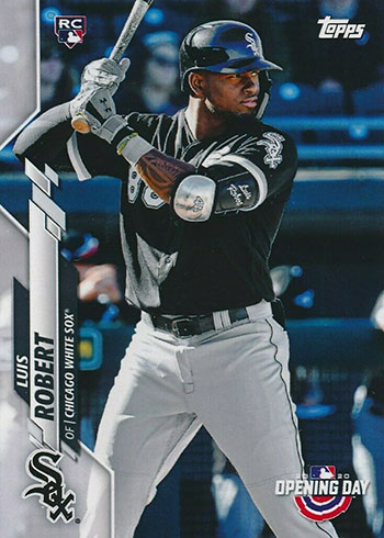 2020 Topps Opening Day Luis Robert RC