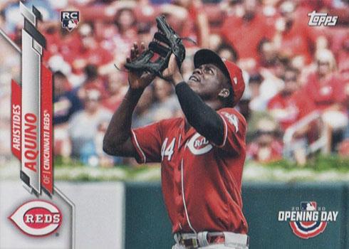 2020 Topps Opening Day Baseball Variations Aristides Aquino