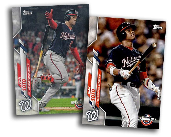 2020 Topps Opening Day Baseball Variations