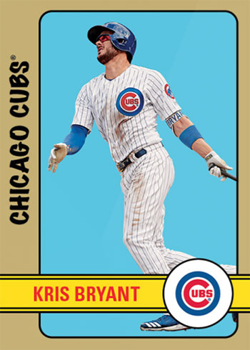2020 Topps Throwback Thursday Baseball Kris Bryant