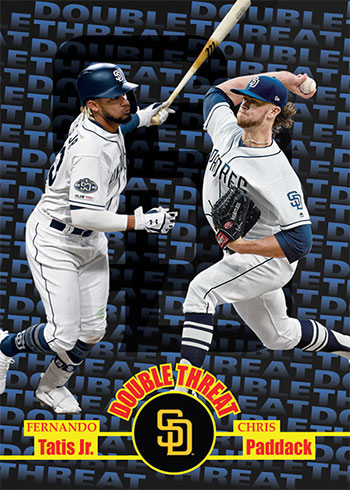 2020 Topps Throwback Thursday Baseball Fernando Tatis Jr., Chris Paddack