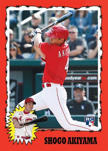 2020 Topps Throwback Thursday Baseball Shogo Akiyama
