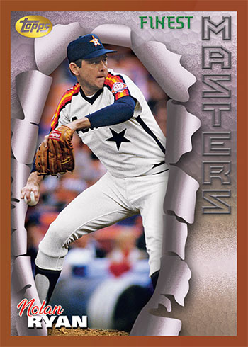 2020 Topps Throwback Thursday Baseball Nolan Ryan