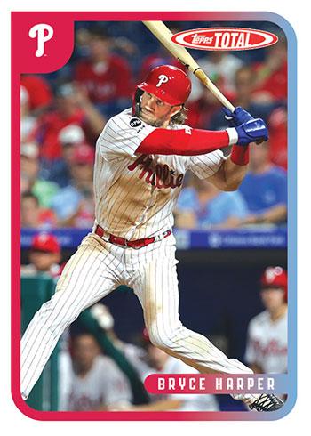 2020 Topps Total Baseball Bryce Harper